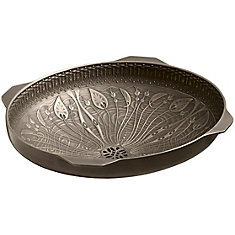 Lilies Lore Natures Chemistry Undermount Bathroom Sink In Cast Bronze