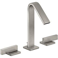 KOHLER Loure(R) widespread bathroom sink faucet with lever handles