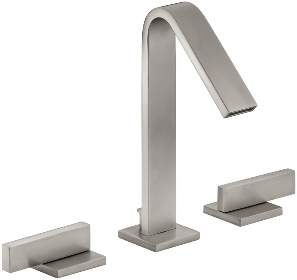 KOHLER Loure(R) widespread bathroom sink faucet with lever handles