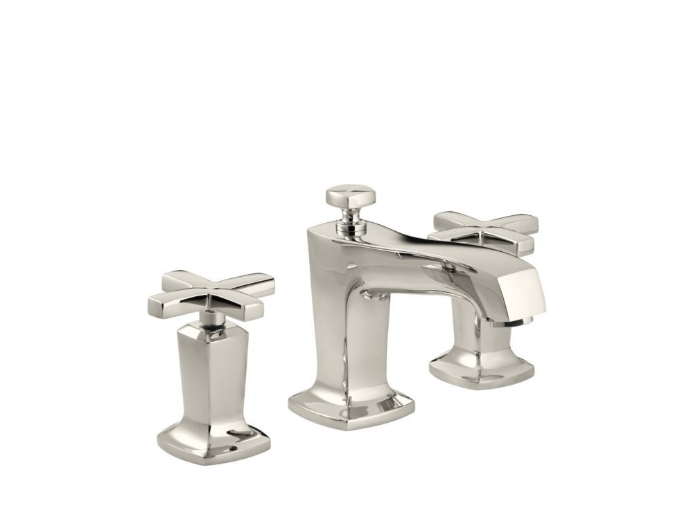 KOHLER Margaux(R) widespread bathroom sink faucet with cross handles