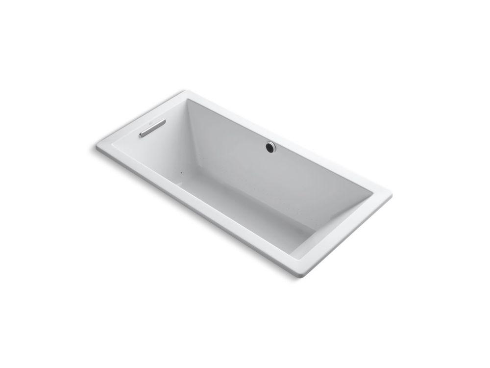 Underscore 5.5 ft. Air Bath Tub In White