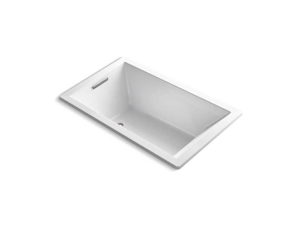 Underscore 60 inch X 36 inch Rectangle Drop Inch Bath In White
