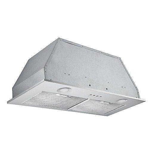 Inserta Plus 28 inch Built-In Range Hood in Stainless Steel