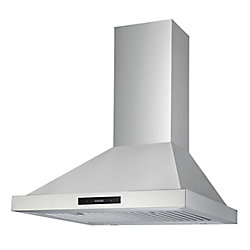 Ancona WPRL430 Pyramid 30 inch Range Hood in Stainless Steel