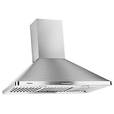 WPC 636 Wall Chef 36 inch Range hood with LED lights