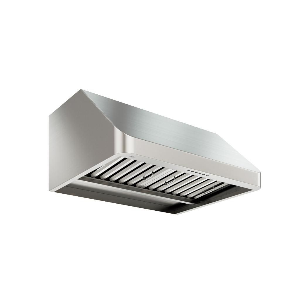 Ancona UC PRO Turbo 30 inch Under-Cabinet Range Hood in Stainless Steel