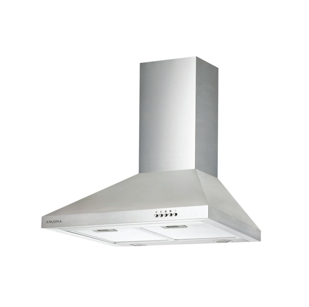 Ancona WPD 430 30 inch Wall Mounted Classic Pyramid Range Hood in Stainless Steel