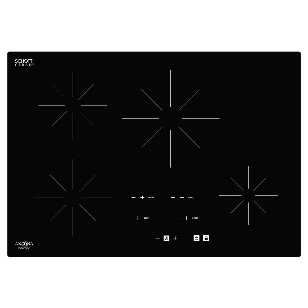 Ancona Chef 30 inch Glass-Ceramic Induction Cooktop