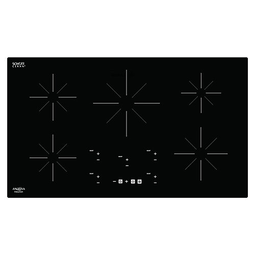Chef 36 inch Glass-Ceramic Induction Cooktop