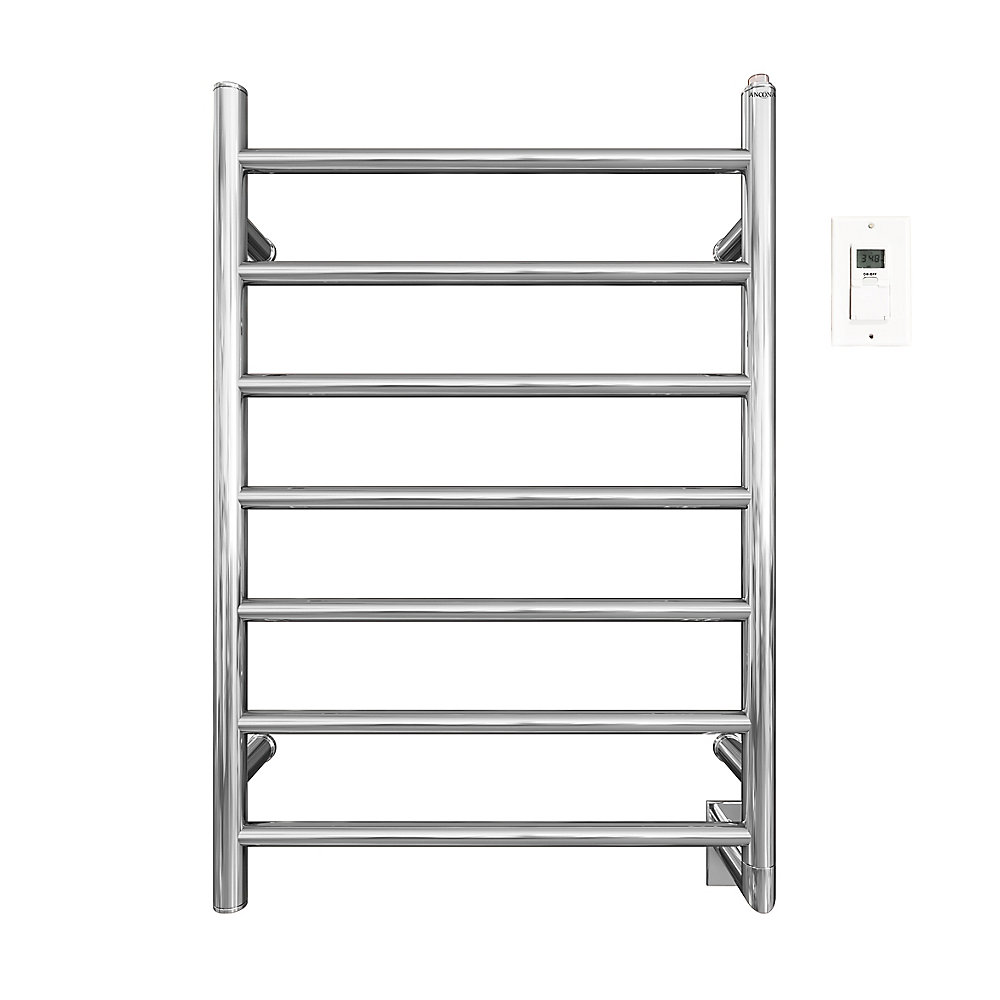 Ancona Comfort 7 Hardwired Electric Towel Warmer And