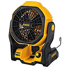 20V Max Lithium Ion Cordless and Corded Jobsite Fan (Tool Only)