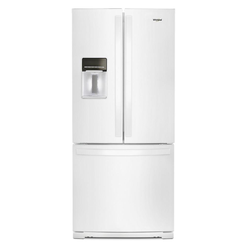 30-inch W 20 cu.ft  French Door Refrigerator in White