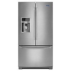 36-Inch W 27 cu.ft. French Door Refrigerator in Fingerprint Resistant Stainless Steel