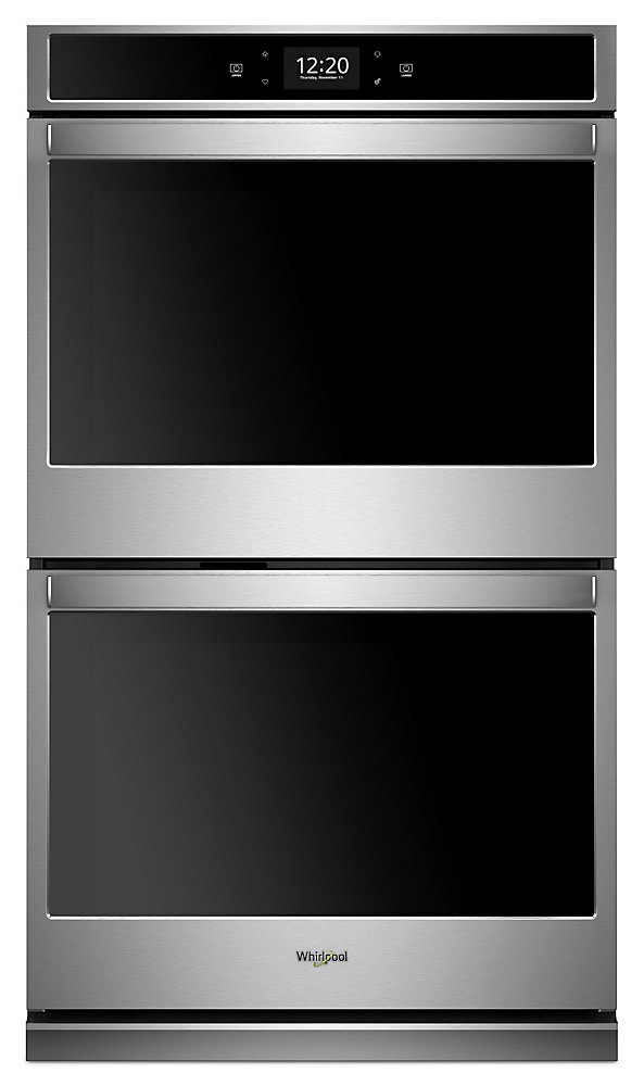 30-inch 10 cu. ft. Smart Double Electric Wall Oven with Convection in Fingerprint Resistant Stainless Steel