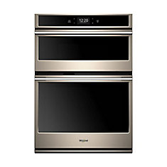 6.4 cu. ft. Smart Combination Electric Wall Oven & Microwave with Convection in Sunset Bronze