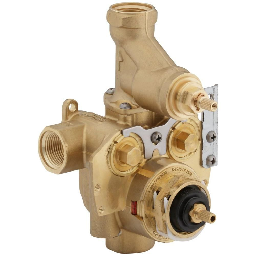 KOHLER Master shower 3/4  inch Thermostatic Valve With Integral Volume Control And Stops