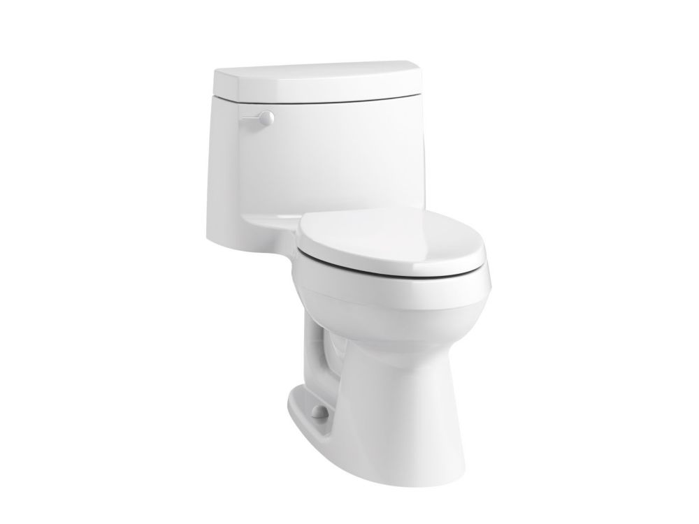 Cimarron 1-Piece 1.28 Gpf Elongated Toilet In White