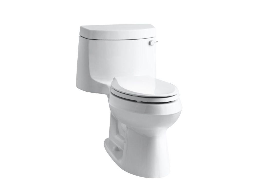 KOHLER Cimarron Comfort Height 1-Piece 1.28 Gpf Single Flush Elongated Toilet In White