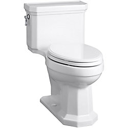 KOHLER Kathryn Comfort Height® Elongated 1-Piece 1.28 Gpf Toilet In White
