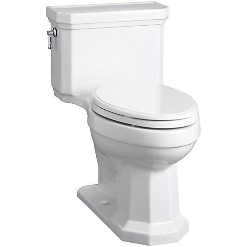 Kathryn Comfort Height® Elongated 1-Piece 1.28 Gpf Toilet In White