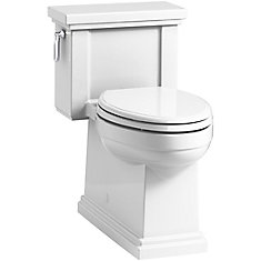 Tresham 1-Piece 1.28 Gpf Single Flush Elongated Toilet In White