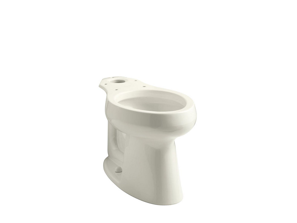 Highline Comfort Height Elongated Toilet Bowl Only In Biscuit