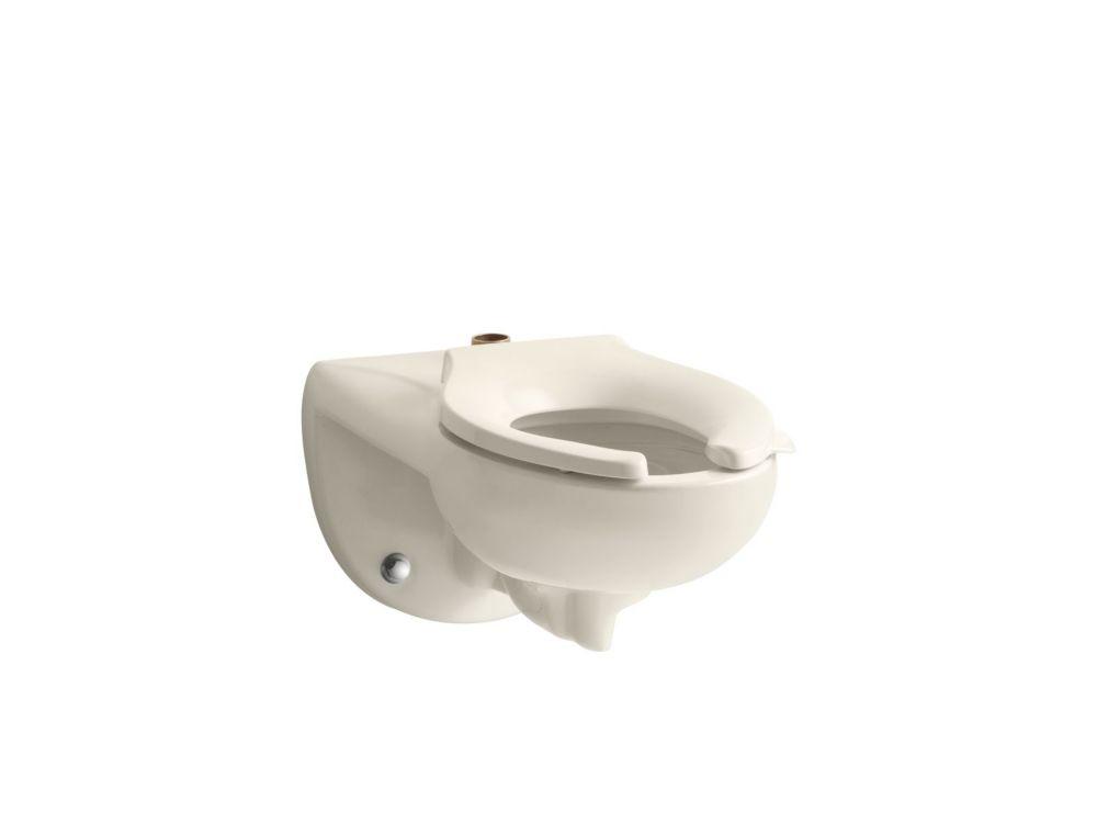 KOHLER Kingston Elongated Toilet Bowl Only In Almond