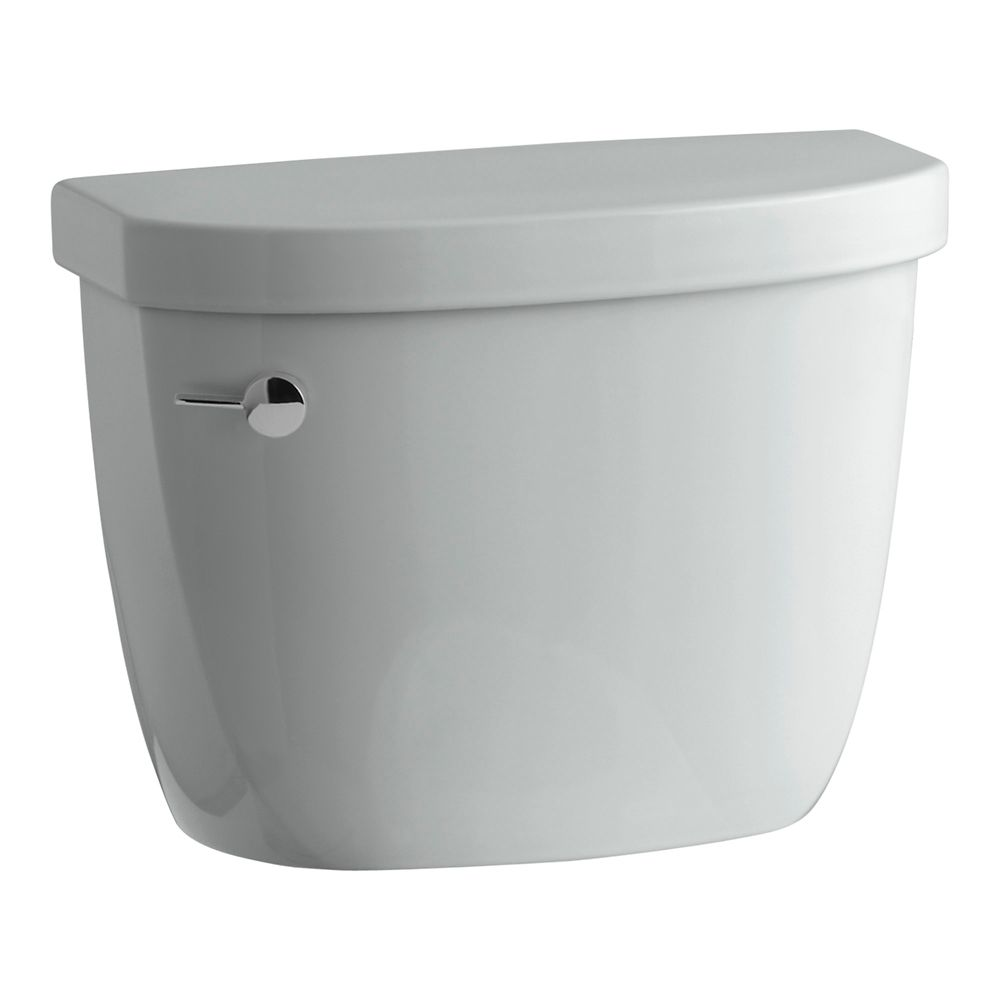 KOHLER Cimarron 1.28 Gpf Toilet Tank Only With Aquapiston Flushing Technology In Ice Grey