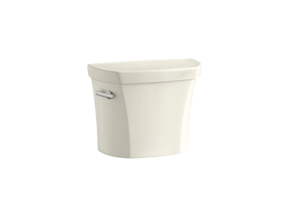 Wellworth 1.28 Gpf Toilet Tank Only With Insuliner Tank Liner In Biscuit