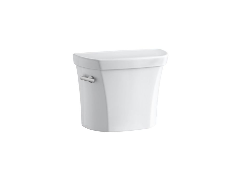 Wellworth 1.28 Gpf Toilet Tank Only With Insuliner Tank Liner And Locks In White