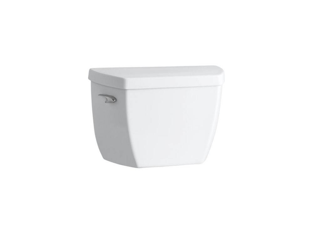 Highline Classic Pressure Lite 1.6 Gpf Toilet Tank Only With Tank Only Cover Locks In White