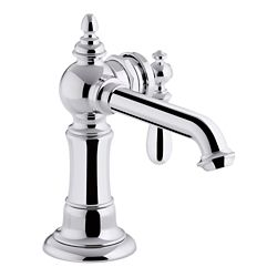 KOHLER Artifacts(R) single-handle bathroom sink faucet