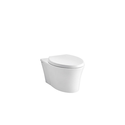 Veil Elongated Toilet Bowl Only In White
