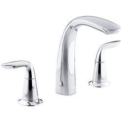 KOHLER Robinetterie de baignoire Refinia® pour robinet a haut debit avec poignees a levier