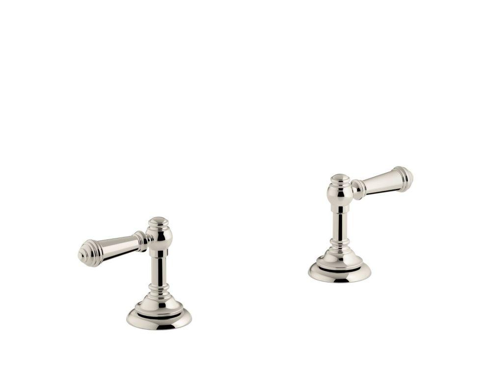 Artifacts(R) bathroom sink lever handles