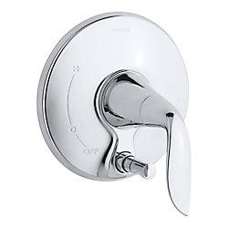 KOHLER Robinetterie Refinia avec inverseur a bouton-poussoir, robinet non inclus