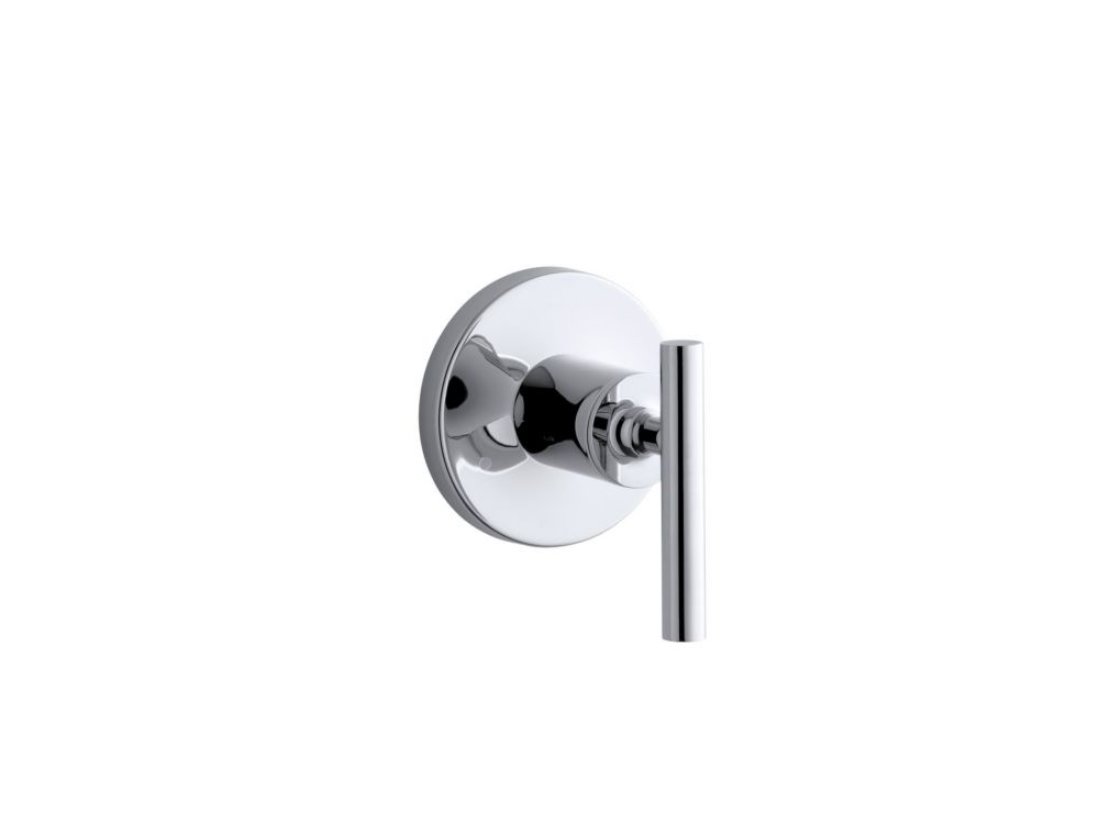 Purist Valve Trim With Lever Handle For Transfer Valve, Requires Valve