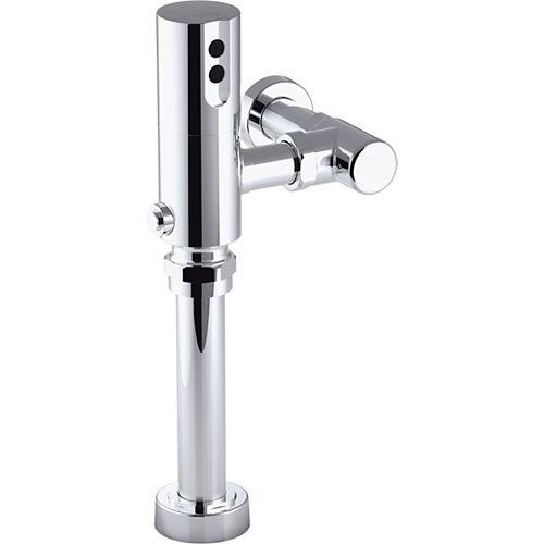 KOHLER Tripoint Exposed Hybrid 1.6 Gpf Flushometer For Toilet Installation In Polished Chrome