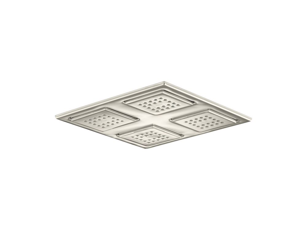 Watertile Rain Overhead Showering Panel In Vibrant Polished Nickel
