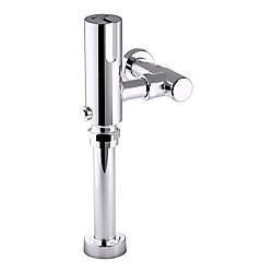 KOHLER Wave Touchless Hybrid 1.28 Gpf Toilet Flushometer In Polished Chrome