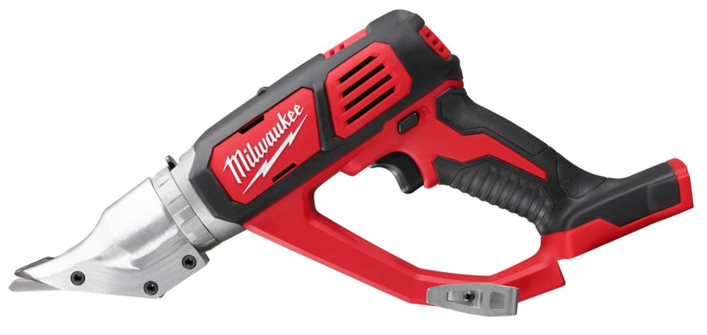 Milwaukee Tool M18 18-Volt Lithium-Ion Cordless 18-Gauge Double Cut Metal Shear (Tool-Only)
