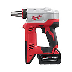 M18 18-Volt Lithium-Ion Cordless 3/8 in.- 1-1/2 in. ProPEX Expansion Tool Kit W/ (2) 3.0Ah Batteries