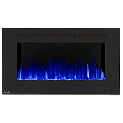 Allure 42-inch Linear Wall Mount Electric Fireplace