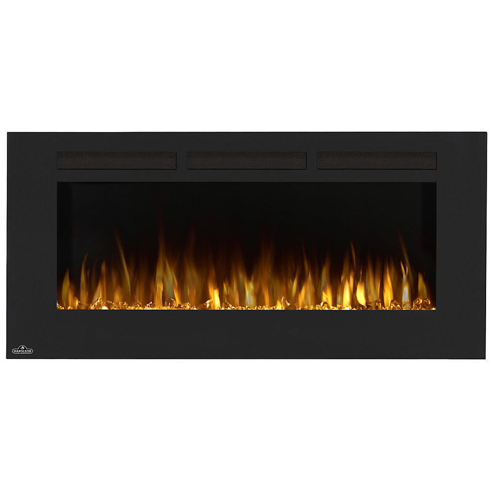 Napoleon Allure 50 Inch Linear Wall Mount Electric Fireplace The