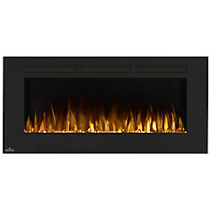 Allure 50-inch Linear Wall Mount Electric Fireplace