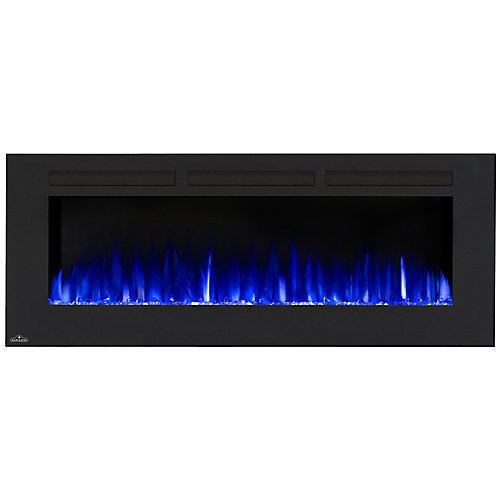 Allure 60-inch Linear Wall Mount Electric Fireplace