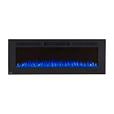 Allure Phantom 60 Inch Wall Mount Electric Fireplace