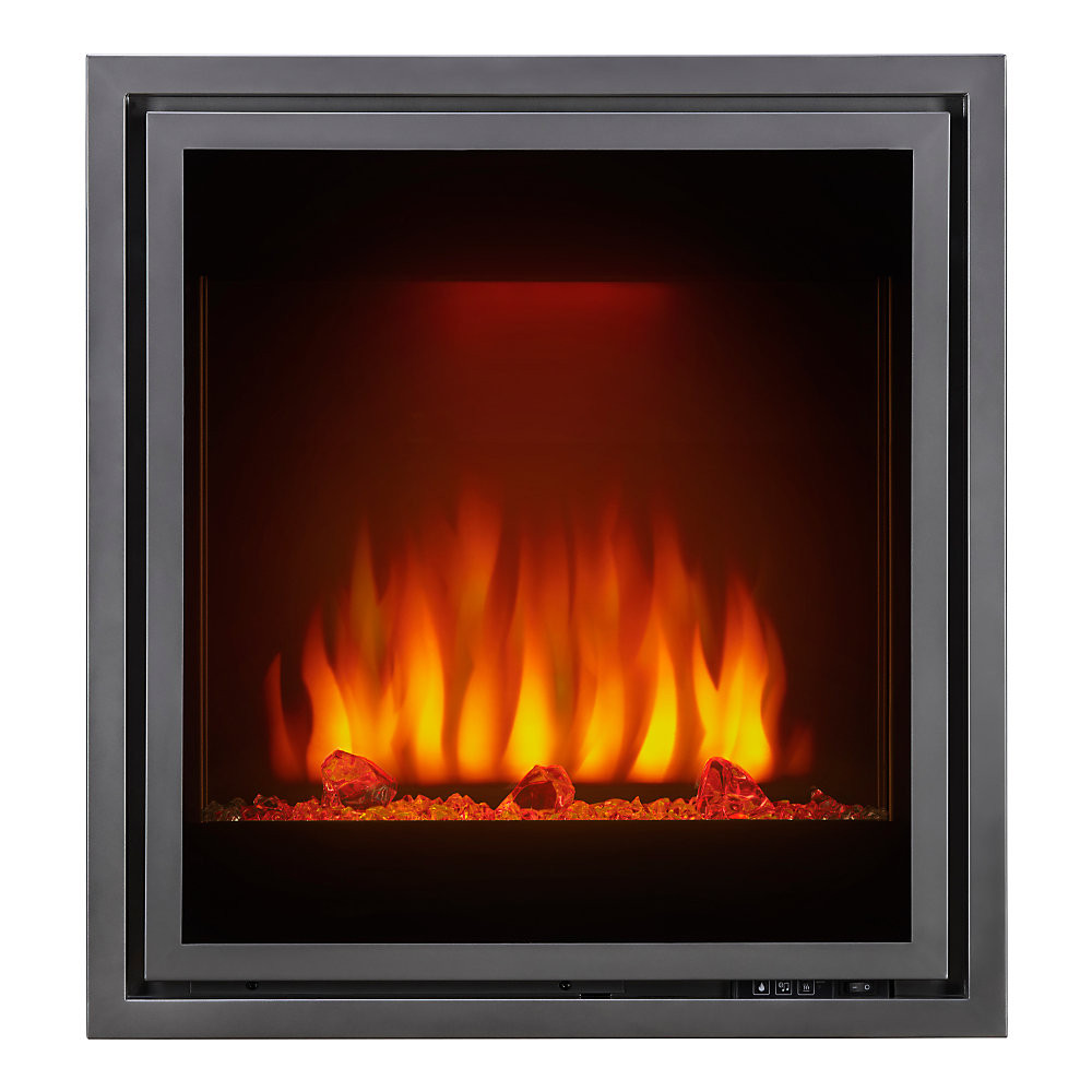 Wondrous Tranquill 30 Inch Built In Electric Fireplace Insert Beutiful Home Inspiration Xortanetmahrainfo
