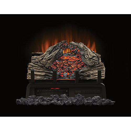 Woodland 18-inch Electric Log Fireplace Insert
