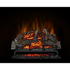 Remarkable Woodland 27 Inch Electric Log Fireplace Insert Interior Design Ideas Inamawefileorg
